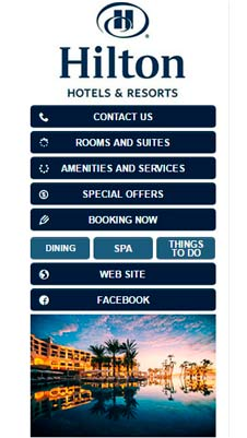 Hilton visual IVR mobile application - Star Phone official website