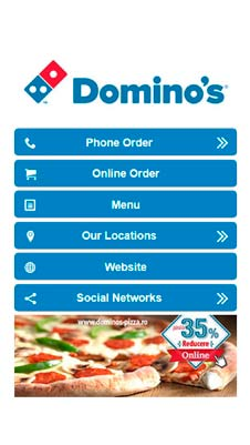 Domino's Pizza visual IVR mobile application - Star Phone official website