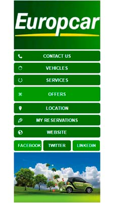 Europcar visual IVR mobile application - Star Phone official website