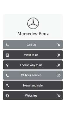 Mercedes Benz visual IVR mobile application - Star Phone official website