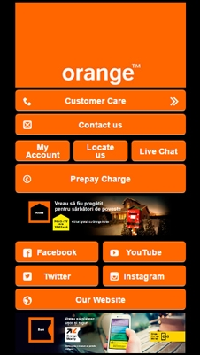 Orange visual IVR mobile application - Star Phone official website