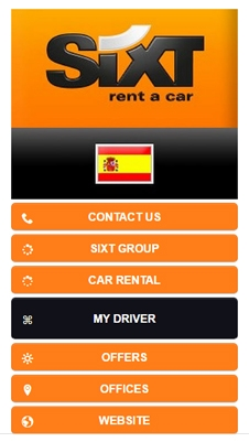 Sixt Rent a Car visual IVR mobile application - Star Phone official website