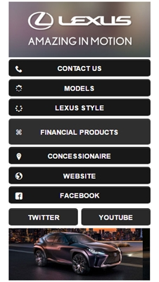 Lexus visual IVR mobile application - Star Phone official website