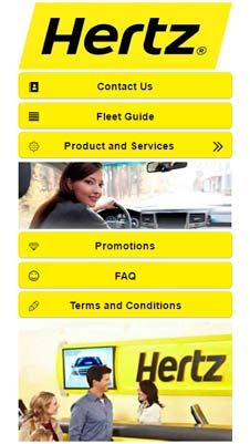 Hertz visual IVR mobile application - Star Phone official website