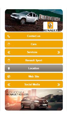 Renault visual IVR mobile application - Star Phone official website