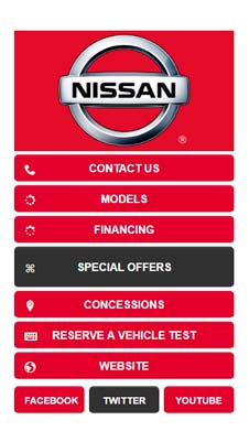 Nissan visual IVR mobile application - Star Phone official website