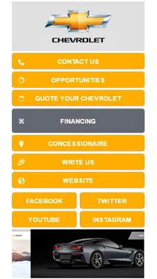 Chevrolet visual IVR mobile application - Star Phone official website