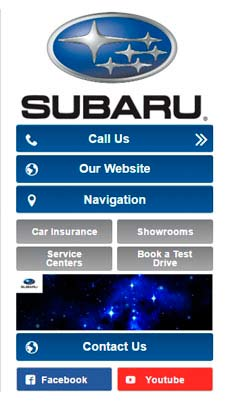Subaru visual IVR mobile application - Star Phone official website