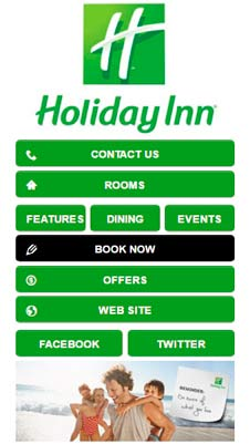 Holiday INN visual IVR mobile application - Star Phone official website