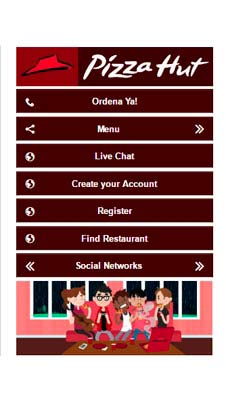 Pizza Hut visual IVR mobile application - Star Phone official website